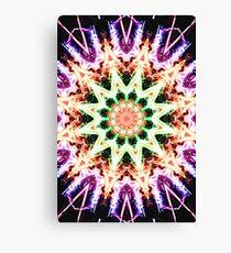 Firework Kaleidoscope 2 Canvas Print