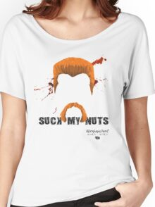 abraham suck my nuts Women's Relaxed Fit T-Shirt