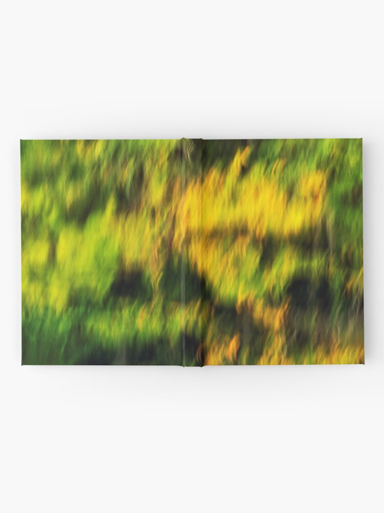 Alternate view of Abstract autumn colours reflected in the river Hardcover Journal