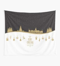 Christmas glam Wall Tapestry