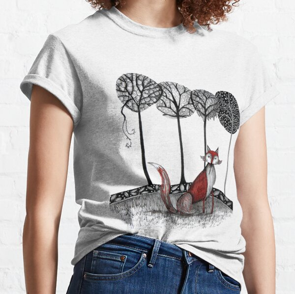 Never out fox the fox Classic T-Shirt