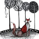 Never out fox the fox by Jenny Wood