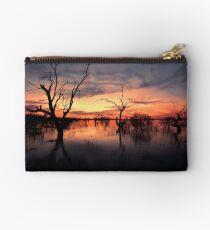 Lake Menindee Sunset  Studio Pouch
