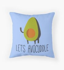 Lets Avocuddle! Throw Pillow