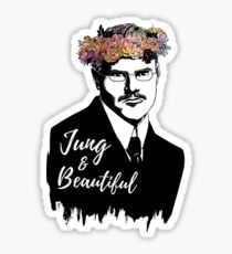 Jung and Beautiful Sticker