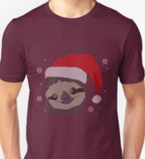 Christmas Sloth Unisex T-Shirt
