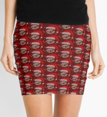 Christmas Sloth Mini Skirt