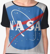 NASA Chiffon Top