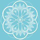 White Pond Bouquet Mandala by DejaLulu