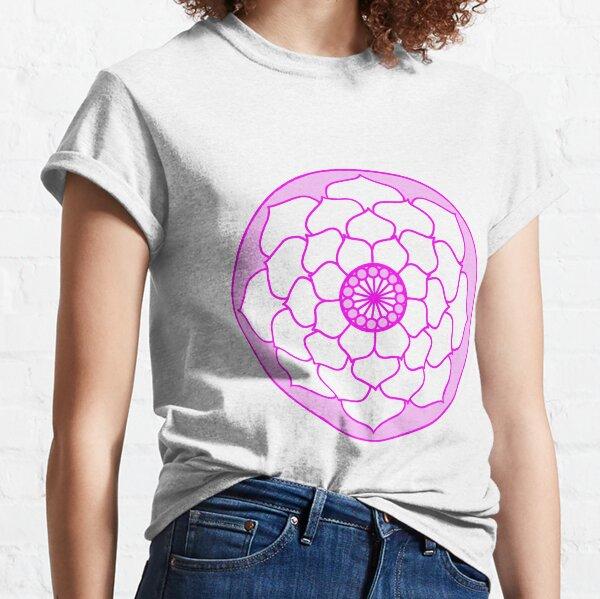 Pink Lotus Flower Mandala Classic T-Shirt
