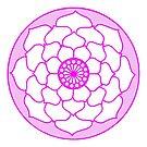 Pink Lotus Flower Mandala by DejaLulu
