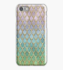 Mermaid Scales (pastel) iPhone Case/Skin