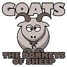 Goats...are a bit dumb! by latenitemedia