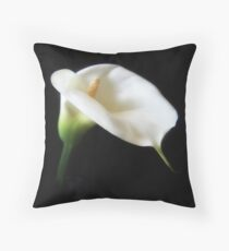 Elegant Calla Lily Flowers 3 Throw Pillow