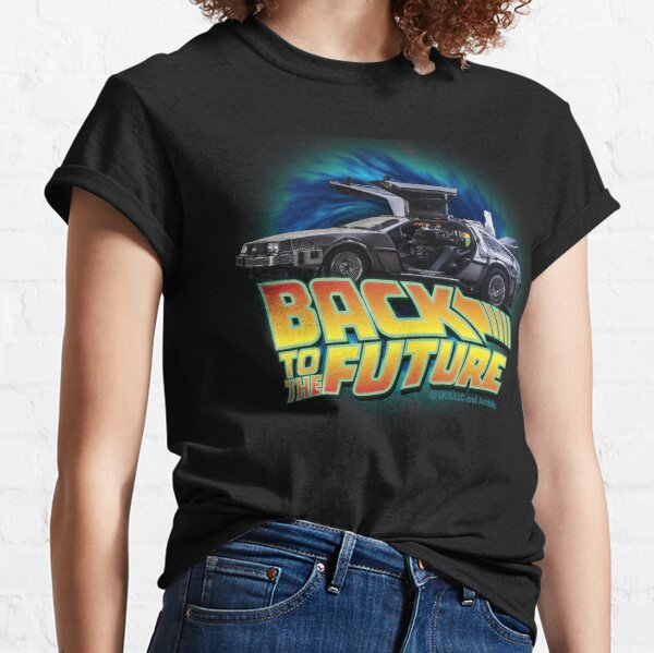 Back to the future movie. Delorean in time Classic T-Shirt