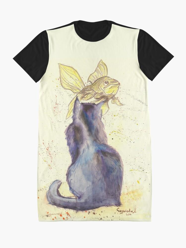 Alternate view of Dream Graphic T-Shirt Dress