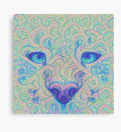 Ice Spirit #DeepDreamed Canvas Print