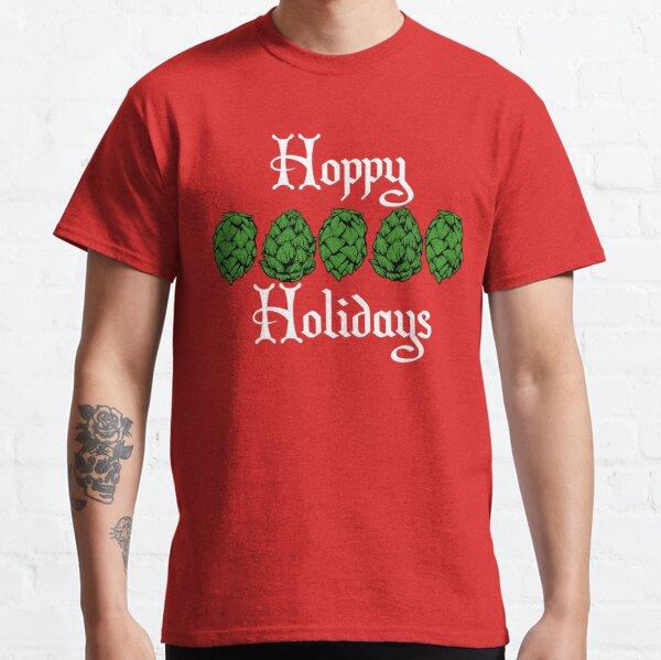 Hoppy Holidays - Homebrewing! Classic T-Shirt