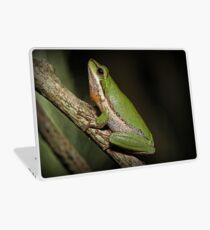 Frog on Branch Laptop Skin