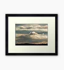 Cloudscape from the Common Framed Print