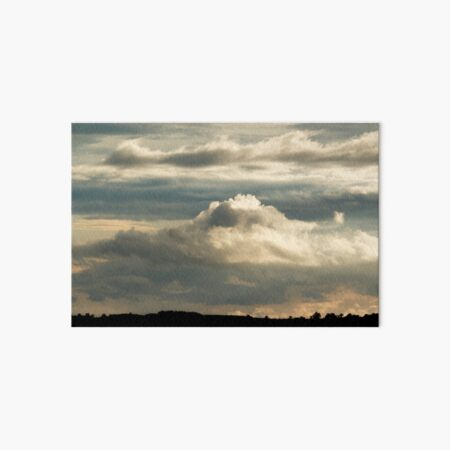 Cloudscape from the Common Art Board Print