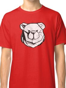 Robust bear logo black and red Classic T-Shirt