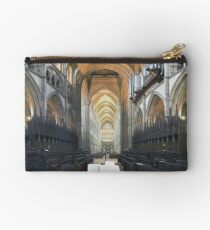 Quire and Nave, Truro Cathedral, England Studio Pouch