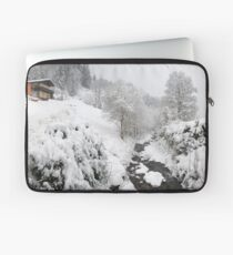 Snow House Laptop Sleeve