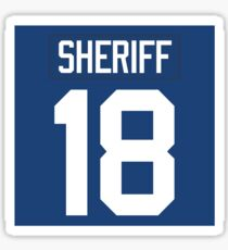 Sheriff Jersey Sticker