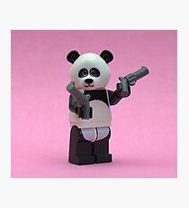 Banksy Panda  Photographic Print