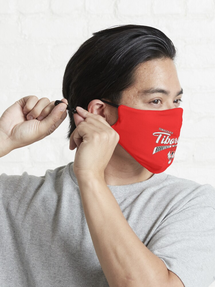 Alternate view of Tiborgs 2021 Red Mask