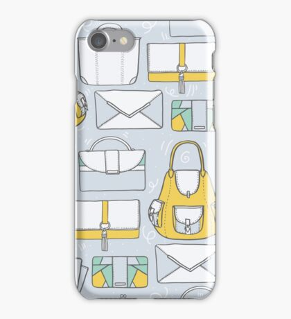 All you need in a bag. And then another bag... iPhone Case/Skin