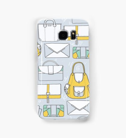 All you need in a bag. And then another bag... Samsung Galaxy Case/Skin
