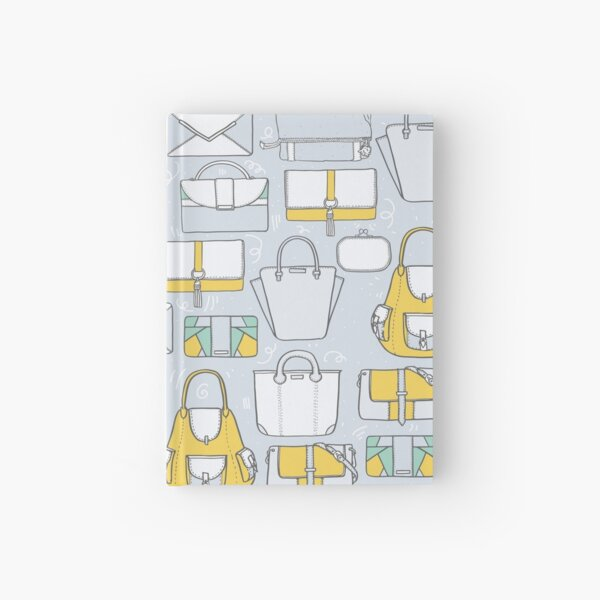 All you need in a bag. And then another bag... Hardcover Journal