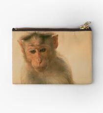 Monkey Face Studio Pouch