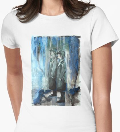 The Reichenbach Falls Together Womens Fitted T-Shirt