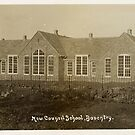 Vintage Image of New Council School, Daventry by NorthantsPast