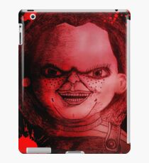 Scary Slasher  Doll iPad Case/Skin
