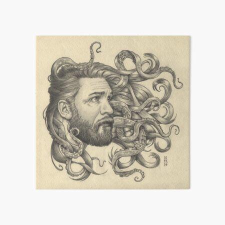 Poseidon Art Board Print