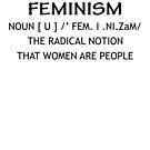 «Definición de feminismo» de idonirainem