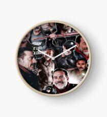 Negan - The Walking Dead Clock