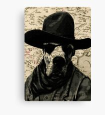 WEST DOG Canvas Print