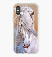 """Andalusian stallion"" - close-up iPhone Case"