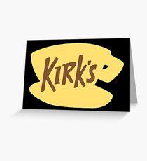 Kirk's Diner – Gilmore Girls inspired Design Greeting Card