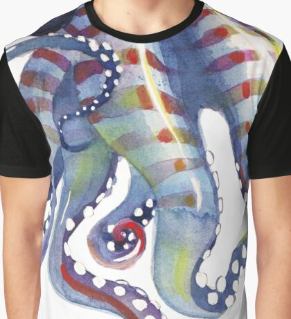 Sea Monster Graphic T-Shirt