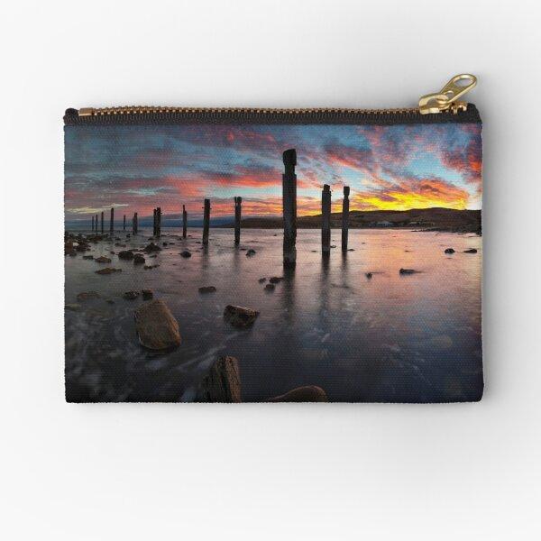 Myponga Beach Sunrise Zipper Pouch