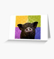 """""""Kevin Bacon"""" Greeting Card"""