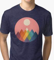 Rainbow Peak Tri-blend T-Shirt