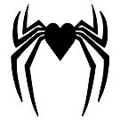 Heart of a Hero - Spider Heart by Q4shirts