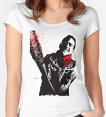 Negan Women's Fitted Scoop T-Shirt